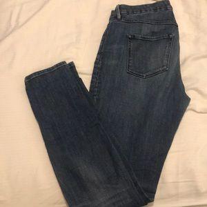 3x1 High Rose Skinny Jeans 27 EUC